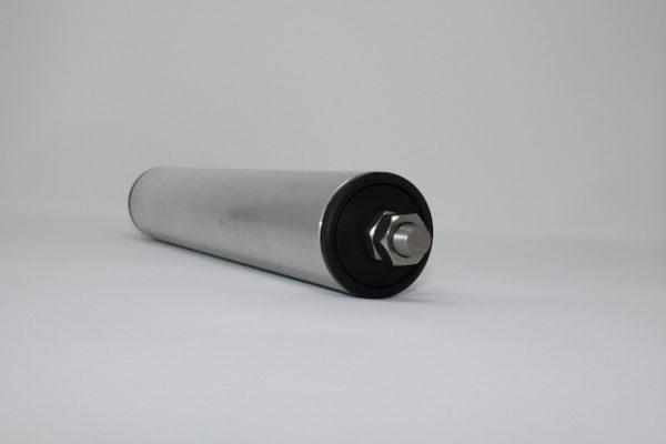 Tragrolle aus Aluminium mit Außengewinde 50mmx1,5mm