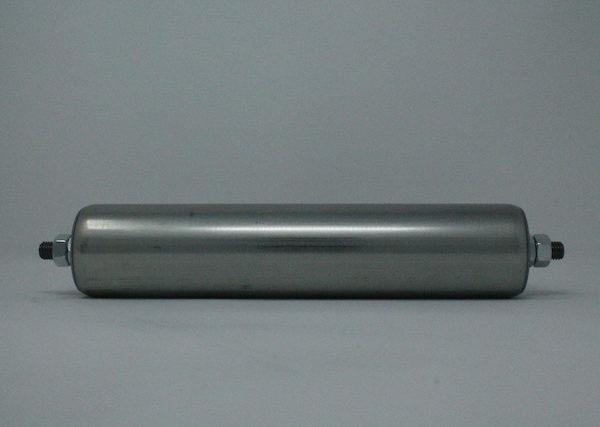 Tragrolle aus Stahl mit Außengewinde 60mmx2,0mm