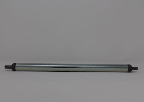 Tragrolle aus Stahl mit Federachse 20mmx1,5mm