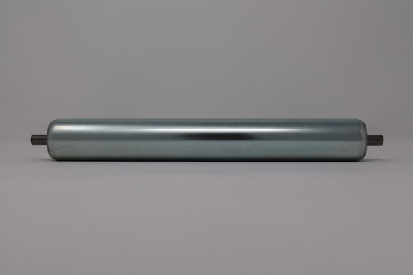 Tragrolle aus Stahl mit Federachse 40mmx1,5mm