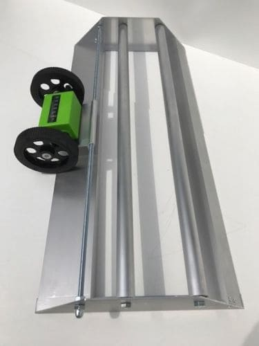 Tapeabroller mit Meterzähler