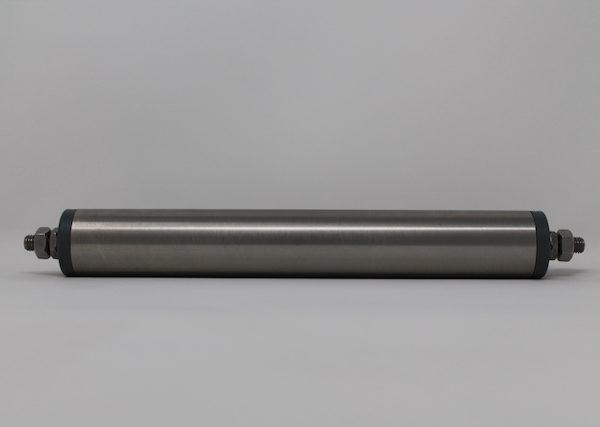 Tragrolle aus Edelstahl mit Außengewinde 40mmx1,5mm