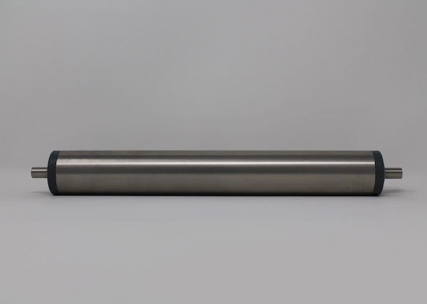 Tragrolle aus Edelstahl mit Federachse 40mmx1,5mm