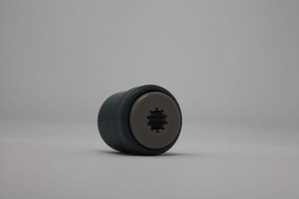 Tragrolleneinsatz aus Kunststoff für Rohr 30mmx1,5mm