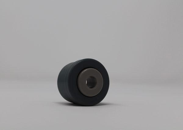 Tragrolleneinsatz aus Kunststoff für Rohr 40mmx2,3mm