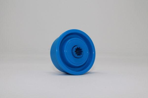 Tragrolleneinsatz aus Kunststoff für Rohr 50mmx2,8mm
