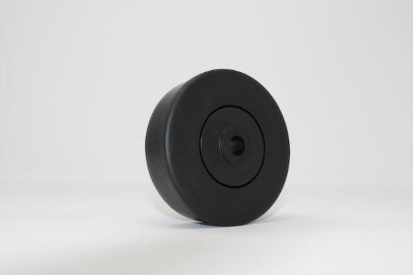 Tragrolleneinsatz aus Kunststoff für Rohr 80mmx2,0mm