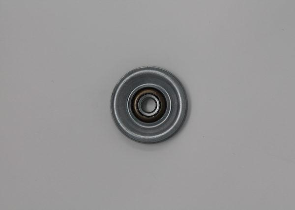 Tragrolleneinsatz aus Stahl für Rohr 60mmx2,0mm